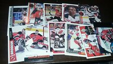 Small Lot of 11 MARTIN BRODEUR CARDS Upper Deck Pacific Donruss ++
