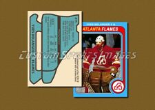 Yves Belanger - Atlanta Flames - Custom Hockey Card  - 1978-79