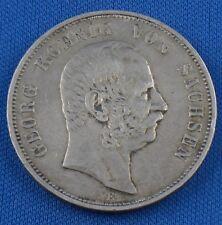 5 Mark Münze Silber 1904 E