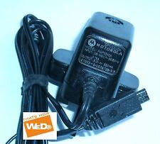 Motorola adaptador de corriente fmp5340a 5v 550ma ENCHUFE REINO UNIDO