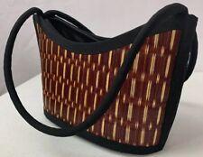 Khmer Saat Beautifully Crafted 100% Rush Handbag Made In Cambodia - New W/O Tags