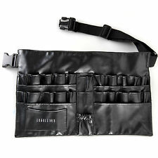 Pro Cosmetic Makeup Brush Apron Bag Artist Belt Strap Holder Toolbelt Black