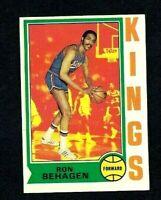 NMT 1974 Topps Basketball #11 Ron Behagen.