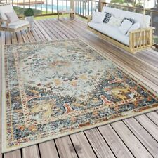 Orient Teppich Outdoor Bunt Balkon Terrasse Vintage Design Strapazierfähig