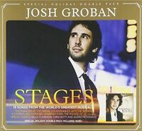 Josh Groban Stages / Noel 2CD two albums Pack Brand New & Sealed