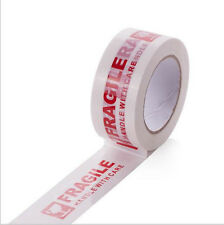 5cm*100m Box Packing Sticky Tape Roll with Fragile Marks Handle With Care