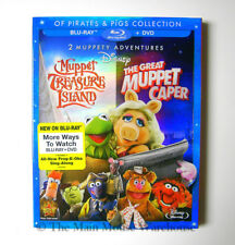 The Muppets 2 Movie Collection Treasure Island Great Muppet Caper Blu-ray DVD