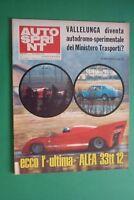 Autosprint 8/1973 Gp Brazil Ferrari Cup Tasmania Daytona 500 Rally By Sweden