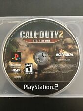 Call of Duty 2: Big Red One (Sony PlayStation 2, PS2) Disc Only