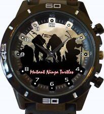 Sombra Tortugas Ninja NUEVO SERIE GT deportivo unisex regalo reloj de pulsera