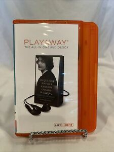 Jackqueline Kennedy The Untold Story ~ Playaway Audiobook ~ Lanyard & Batte