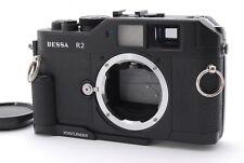 【Mint】Voigtlander Bessa R2 35mm Rangefinder Film Camera Body w/ Grip-#1829