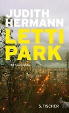 Lettipark von Judith Hermann (2016, Gebundene Ausgabe) Erzählungen