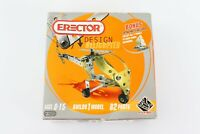 Erector Design Set Helicopter #1522 Flexible Extra Parts *New Sealed*