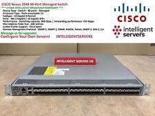 CISCO Nexus 3548 48-Port Managed Switch - N3K-C3548P-10G