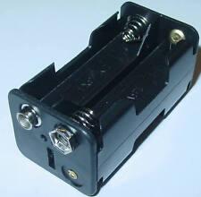 Support de batterie, batterie encadré 4 x Mignon AA 6v/4, 8v, bouton poussoir port, d69