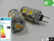 G4 LED Stiftsockel-Zylinder - 9x 3-Chip-SMDs 110Lm - 1,3W - warm-weiß