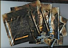 Cellucor Alpha Amino Ultimate BCAA Recovery ORANGE SHERBET (9) One Serving PACKS