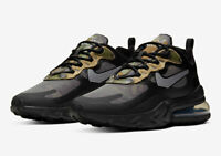 Nike Air Max 270 React Black Multi Size US Mens Athletic Running Shoes