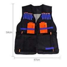 Tactical Vest Kids Toy Gun Clip Jacket Foam Bullet Holder