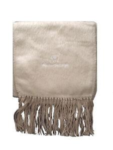 Alpaca Scarf Genuine Brushed Tan Alpaca Wool Scarf Hand Made in Ecuador & Peru