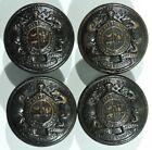 WWI Era Missouri State Troops Greatcoat Buttons