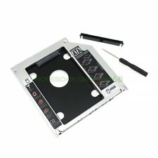 New! Hard Drive Caddy Adapter SATA For Apple Macbook Pro Optibay 2nd Fitting