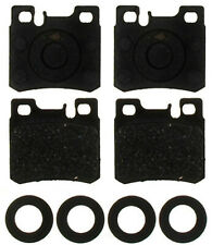 Disc Brake Pad Set-Semi Metallic Rear ACDelco Pro Brakes 17D427M