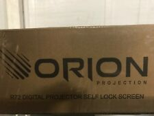 New Orion R72 Digital 72� Self Lock Projector Screen Theater Quality Msrp $1249