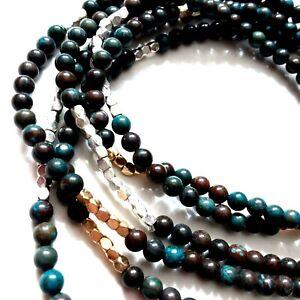K53 Jasper bead Necklaces 2 pieces