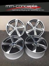 19 Zoll Borbet S Felgen 8,5x19 et35 5x112 graphite Alufelgen für Audi VW Rotor