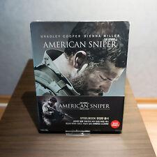 American Sniper Bluray Steelbook Korea NEW Sealed Rare