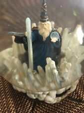 "San Francisco Music Box Company ""Crystal Vision� mystical Wizard Snow globe 1992"