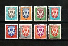 NO RESERVE AUCTION!!  Senegal stamps #o1 - o8, Officials, BOB, 1961-62, MHOG, VF