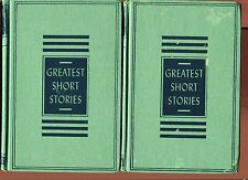 Lot of 3 GREATEST SHORT STORY ANTHOLOGIES Vintage HBs Vol 1 2 & 6 1953
