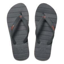Reef NEW Men's Switchfoot Flip Flops - Grey / Orange BNWT