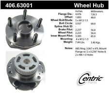 Wheel Bearing and Hub Assembly-Premium Hubs Rear Centric 406.63001