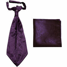 Lord R Colton Masterworks Pocket Square $75 New Trindade Coastal Purple