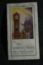 *Vintage* The March of Time - Colonial Clock Catalog