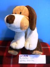 Ty Pluffies Whiffer the Brown and White Dog 2002 plush(310-2698)