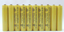 10 pcs Rechargeable NiCd AAA 600mAh Ni-Cad Batteries for Solar-Powered Light B10