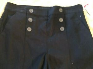 Attention Womens Short Shorts Black Small New with Tags Vintage K mart