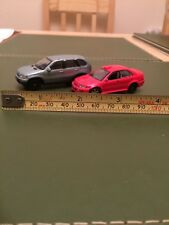 HONGWELL CARARAMA DIECAST MITSUBISHI LANCER & BMW X5 Nice condition