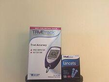 Buy 100 LANCETS 28G GET TrueTrack Blood Glucose Monitoring System Meter Kit-FREE