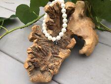 Ti Sento White Pearl Bracelet ( 2610PW)  Sterling Silver Logo Tag - New