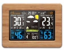 TG671 - Wooden Style Radio Controlled Weather Station with Indoor/Outdoor sensor