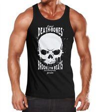 Caballeros Tank-Top Skull death and Bones muscular camisa muscle camisa neverless ®