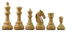 "Colombian Series Premium Staunton 4.4"" Staunton Ebony Chess Pieces"