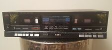Vintage Fisher Studio Standard Cr-W55 Dual Cassette Deck for Parts or Repair