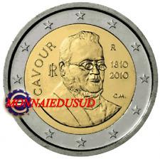 2 Euro Commémorative Italie 2010 - Comte de Cavour